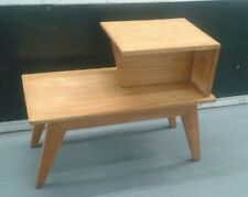 Modern Age Mid Century Modern End Table Elm Paul Laszlo