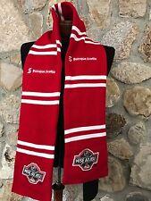 LNH Mise au Jeu 2013 Red White Striped Scarf NHL Face Off Banque Scotia Canada