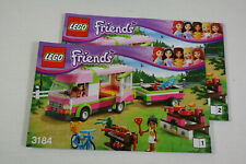 Lego Friends Set 3184 Ferien mit dem Wohnmobil komplett mit Bauanleitung