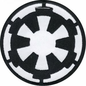 Star Wars Official Galactic Empire Crest Darth Vader Lucasfilm Iron On Patch (AL