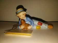 Vintage Holly Hobbie Figurine Boy and Puppy Dog Just Friends Whf 101B Series Ii