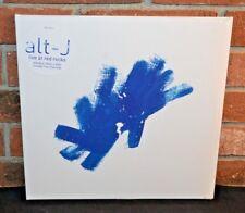 ALT-J - Live At Red Rocks, Limited 2LP BLUE VINYL + Download & DVD Gatefold NEW!