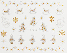 Nailart Stickers Autocollants Ongles Scrapbooking Déco Noël Cadeaux Flocons