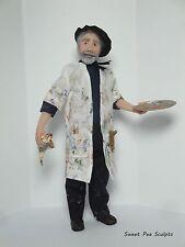 OOAK 1:12th Escala Miniatura muñeca casa por el artista Sweet Pea esculpe