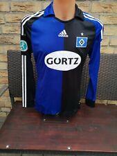 Hamburger SV Spieler- Trikot 2009 Matchworn Damen M adidas Langarm Shirt Jersey