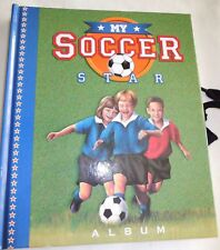 My Soccer Star Hard Covered Memory Album w/places for photos and journaling