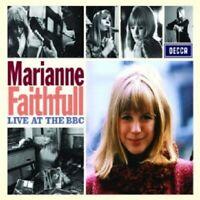 MARIANNE FAITHFULL - LIVE AT THE BBC  CD  15 TRACKS POP / BLUES ROCK  NEU