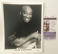 Michael Clarke Duncan Signed Autographed 8x10 Photo JSA Certified