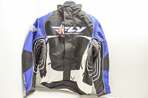 Fly Racing 470-2151X Jacket Blue/Black/White XL NOS