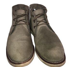 RED WING SUEDE LEATHER BOOTS FOR MEN- SIZE 10.5