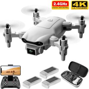 New V9 RC Mini 4k Dual Camera HD Wide Angle Camera WIFI FPV Foldable Drone Toy