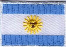 écusson ECUSSON PATCHE THERMOCOLLANT DRAPEAU ARGENTINE ARGENTINA DIM. 4,5 X 3 CM