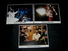 3 Original BLUES BROTHERS Rare International Lobby Card RAY CHARLES CAB CALLOWAY