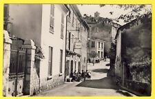 cpsm Très RARE 06 - GATTIÈRES (Alpes Maritimes) Rue TORRIN GRASSI Bar Dancing