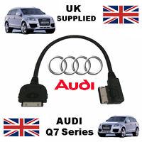 NEW AUDI Q7 Series 2010-2014 AMI MMI 4F0051510R iPhone iPod AUDIO & VIDEO Cable