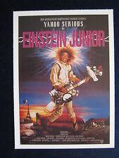 Filmplakatkarte cinema   Einstein junior   Yahoo Serious, Odile Le Clezio