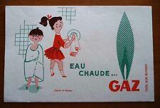 ANCIEN BUVARD PUBLICITAIRE / EAU-CHAUDE  AU GAZ / FIX MASSEAU