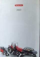wiking  Katalog 2003 Spur HO . .N.-  24 Seiten