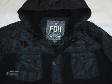 Fox Mens Tracked Sherpa Zip Fleece Fox Young Men/'s