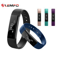 Lemfo ID115 Bluetooth Banda Inteligente Podómetro Smart Band Para Android iOS ES