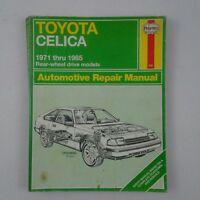 Toyota Celica 1971 -  1985 Rear Wheel Drive Automotive Repair Manual Haynes 935