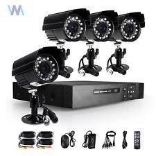 Sistema de Video Vigilancia Cámara KIT 4 Canales CCTV DVR 4x700TVL Seguridad