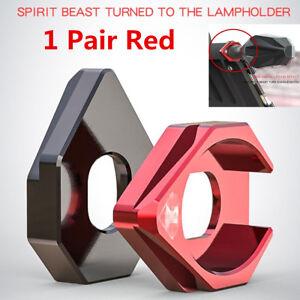 1Pair Aluminum Alloy Motorcycle Turn Signals LED Light Base Mount Bracket Holder