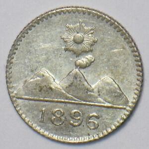 Guatemala 1896 1/4 Real 295295 combine shipping