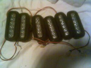 Lot of 6 Whelen ION™ Series Super-LED® Universal Light & Body Mount Grommets