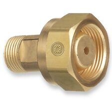 CGA-520 B Tank Acetylene to CGA-200 MC Acetylene Regulator, Adaptor #306