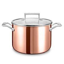 Kitchenaid Kc2p80sccp Pentola in acciaio inox 24 x 16 cm Argento/rame Kitchen