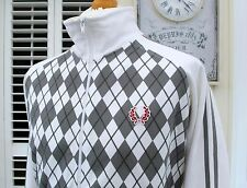 Fred Perry Harlequin Twin Taped Track Jacket - XL - Mod Ska Scooter Casuals Rare