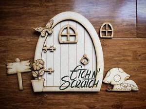 Magical Fairy Door 11 piece kit - MDF