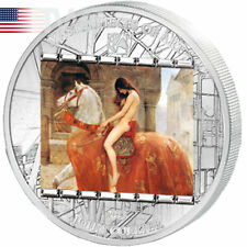 "Cook Islands 2013 20$ ""Lady Godiva"" John Collier Masterpieces of Art 3 oz Proof"