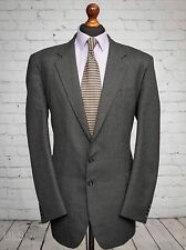 Vintage St Michael M&S Grey Pinstripe Suit Jacket 46L