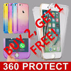 Shockproof 360° Silicone Protective Clear Case Cover For Apple iPhone 5 5s SE