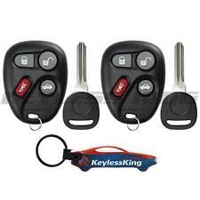 2 Replacement Remote Key Fob Set for 2001 2002 2003 2004 2005 Pontiac Grand Am