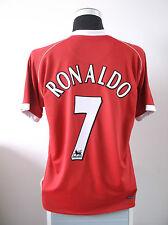 Cristiano RONALDO #7 Manchester United Home Football Shirt Jersey 2006/07 (L)