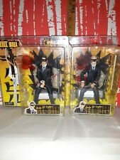 """TWO """"CRAZY 88 FIGHTERS"""", KILL BILL, NECA 7"""" ACTION FIGURES"""