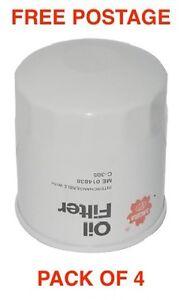 Sakura Oil Filter C-1052 Hyundai Elantra SONATA BOX OF 4 CROSS REF RYCO Z637