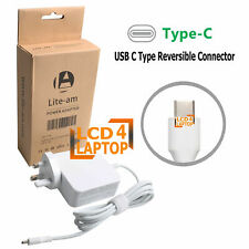 For Acer Switch Alpha12 65W USB-C Laptop Tablet AC Adapter Power Supply Charger