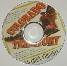 WESTERN 19: COLORADO TERRITORY (1949) Raoul Walsh Joel McCrea, Mayo, Malone