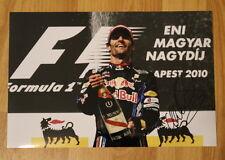 ORIGINAL Autogramm von Mark Webber. pers. gesammelt. 20x30 Foto. 100% Echt