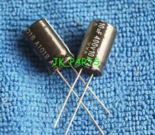 10pcs 10uF 400V 105°C Radial Electrolytic Capacitor 10x16mm