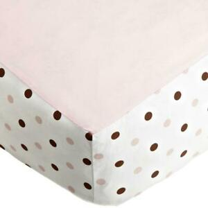 "Imported Fashion 100% Cotton Crib Bed Skirt 9"" Deep Corner Pockets Machine wash"