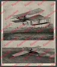 Aviación avión Farman Issy-les-Moulineaux Esnault-pelteries BUC Paris 1908!!!