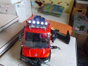 RC Unimog Rallye von Dickie mit Kippvorrichtung