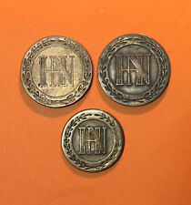 5 CENT 1809 et 1812 / 3 CENT 1809 WESTPHALIE JEROME NAPOLEON - ALLEMAGNE CUIVRE.