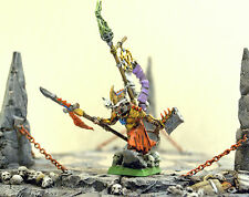 ** WARHAMMER ** AGE OF SIGMAR  SKAVEN WAR LORD  ISLAND OF BLOOD - MASTER PAINTED