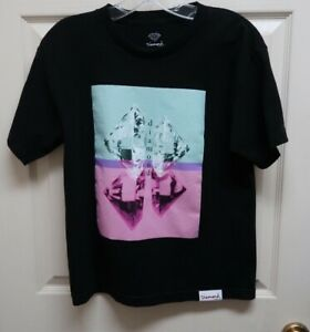 """Tilly's Diamond Supply Co.""""Duplicated"""" L Boys T-Shirt Black w/Graphic NWOT"""